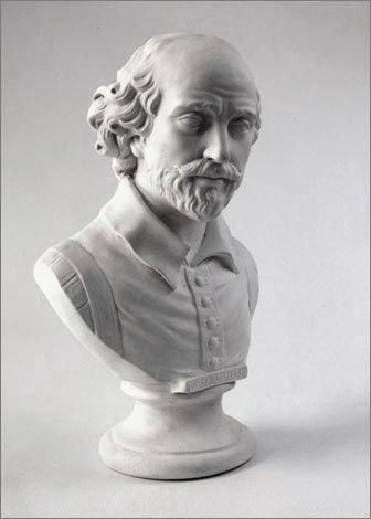 Bust of Shakespeare - After
