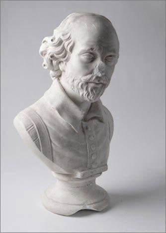 Bust of Shakespeare - Before