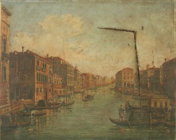 Painting of Venice - Before